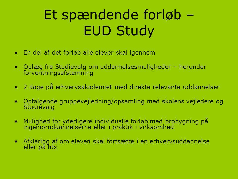 Et spændende forløb – EUD Study