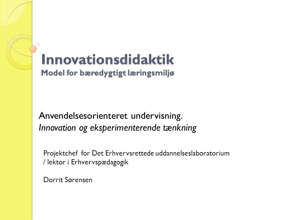 Innovationsdidaktik Model for bæredygtigt læringsmiljø