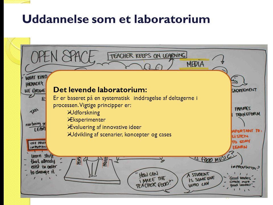Uddannelse som et laboratorium