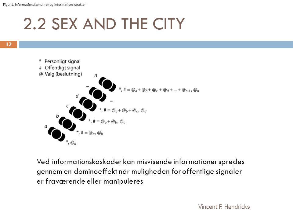 Figur 1. Informationsfænomen og informationskarakter
