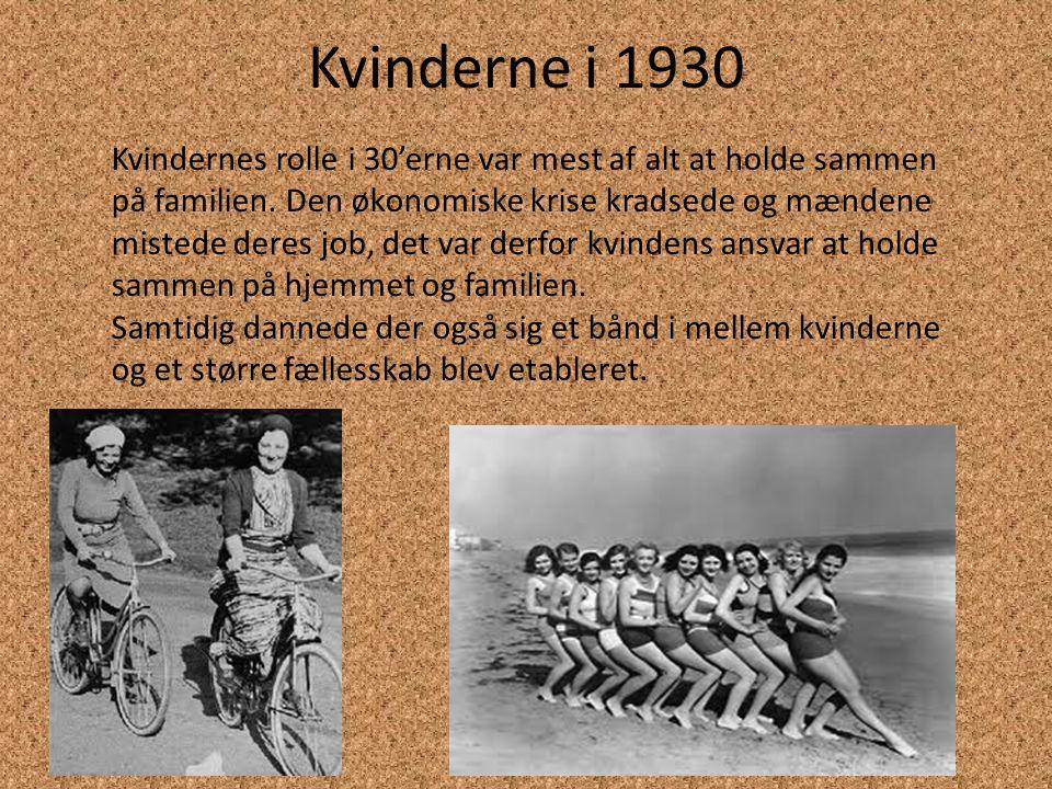 Kvinderne i 1930
