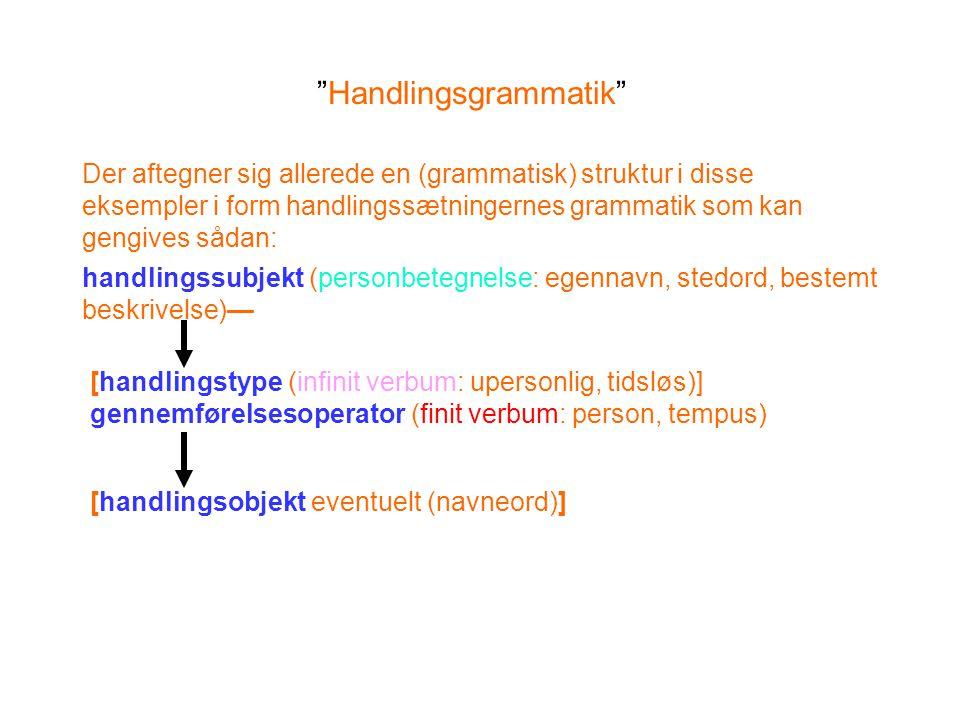 Handlingsgrammatik