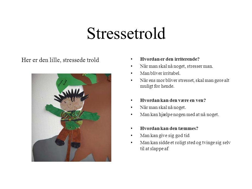Stressetrold Her er den lille, stressede trold