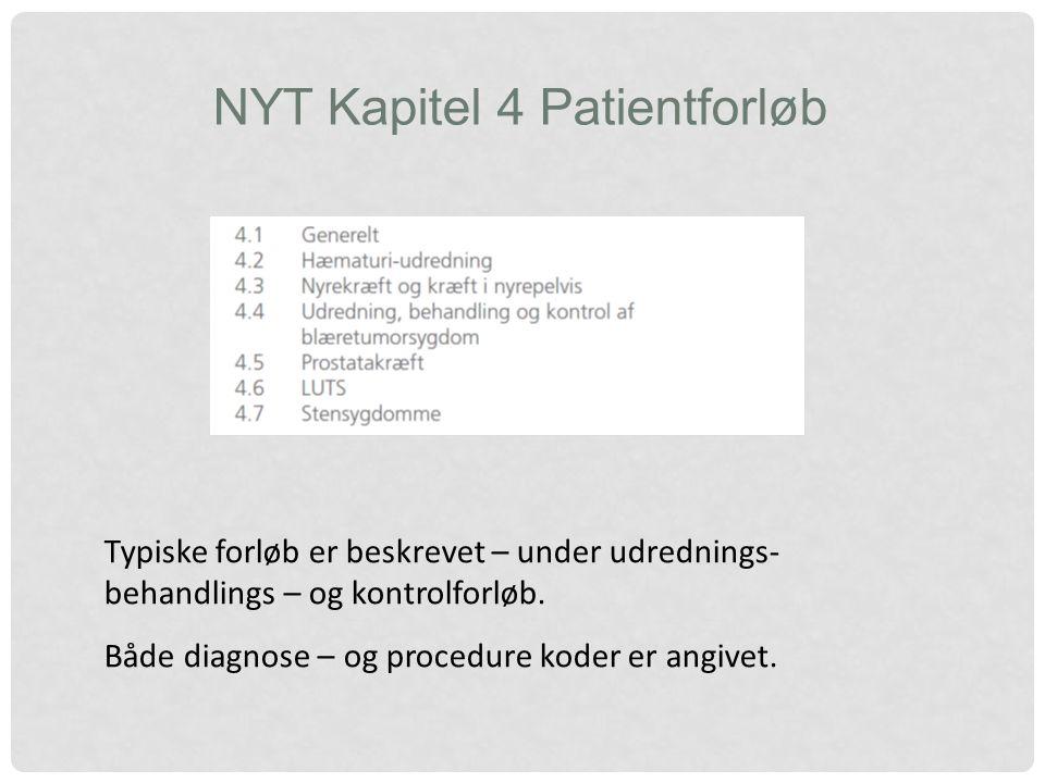 NYT Kapitel 4 Patientforløb