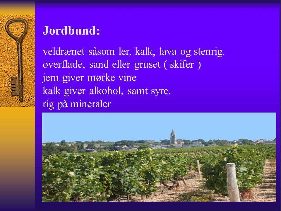 Jordbund: