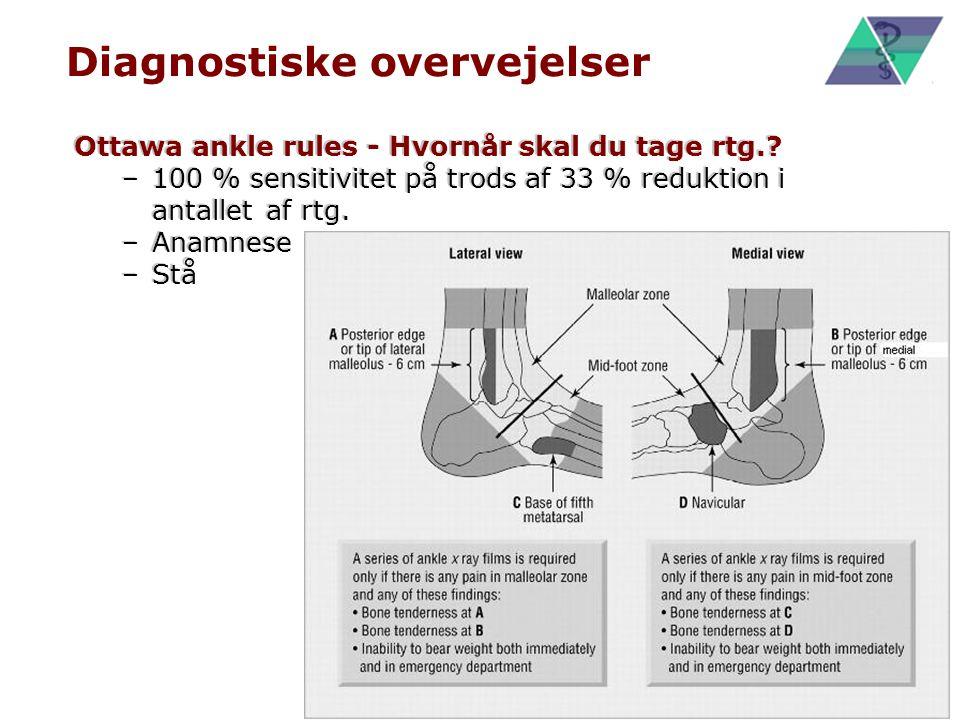 Diagnostiske overvejelser