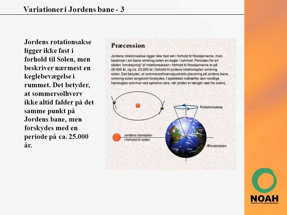 Variationer i Jordens bane - 3