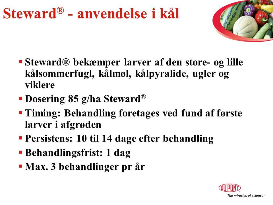 Steward® - anvendelse i kål