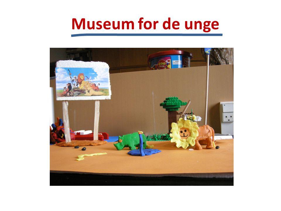 Museum for de unge Produkt: Konceptbeskrivelse Teksteksempel