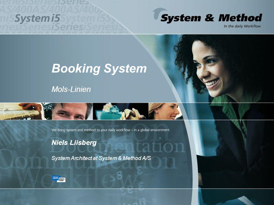 Booking System Mols-Linien Niels Liisberg