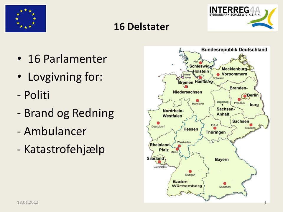 16 Parlamenter Lovgivning for: - Politi - Brand og Redning