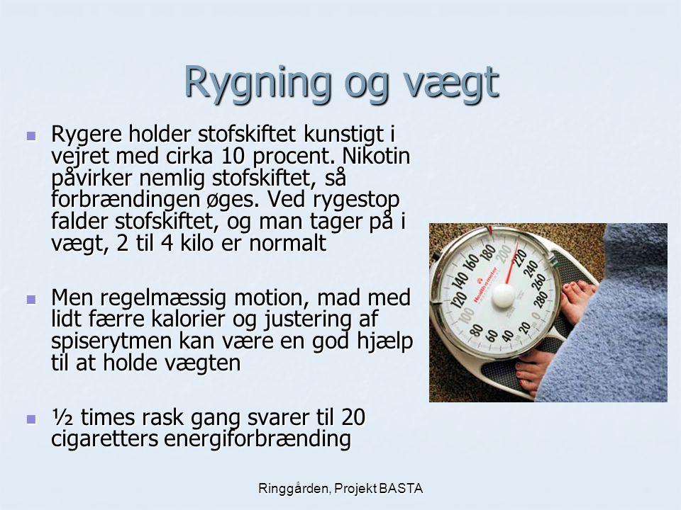 Projekt på Ringgården om rygning og alkoholbehandling - ppt video online download