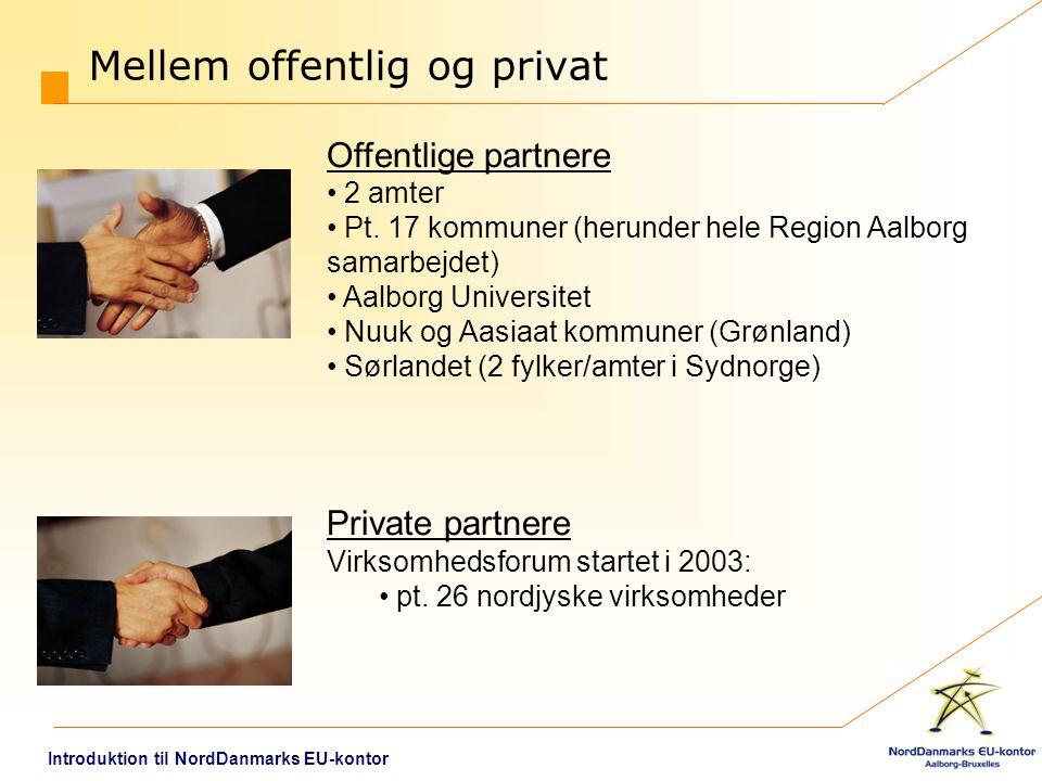 Mellem offentlig og privat