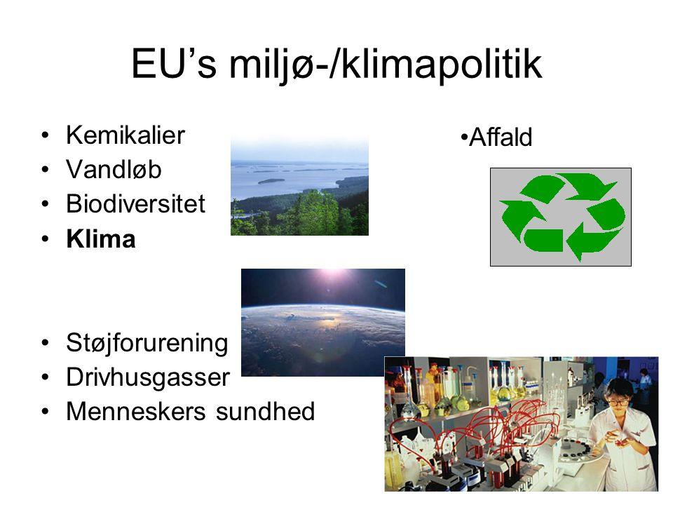 EU's miljø-/klimapolitik
