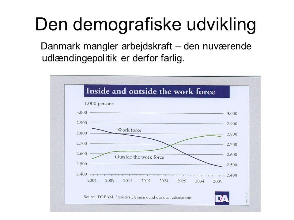 Den demografiske udvikling