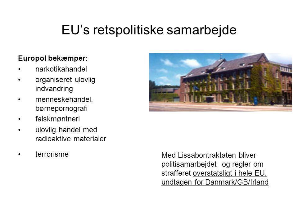 EU's retspolitiske samarbejde