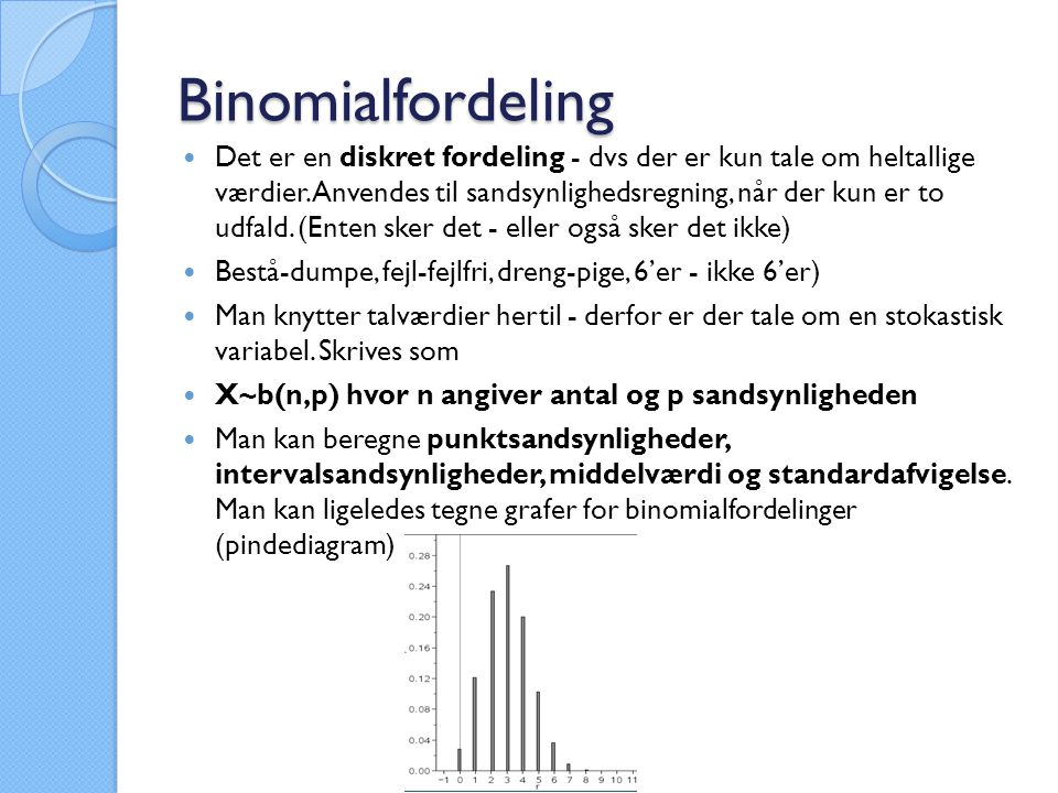 Binomialfordeling