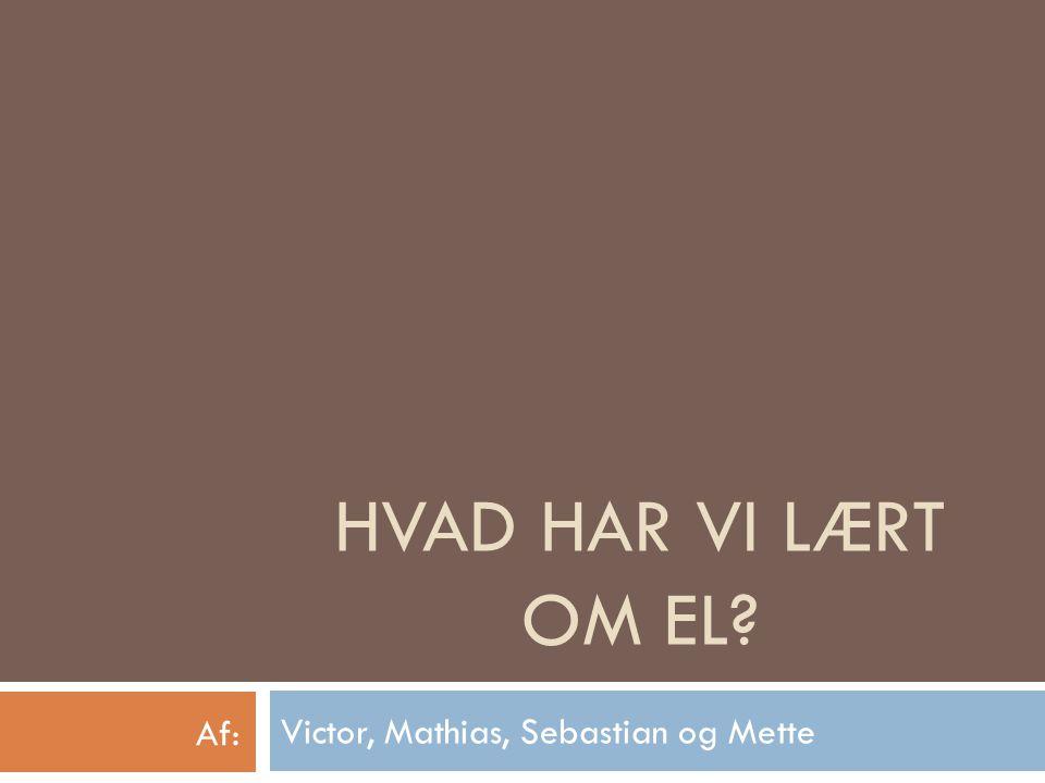 Victor, Mathias, Sebastian og Mette