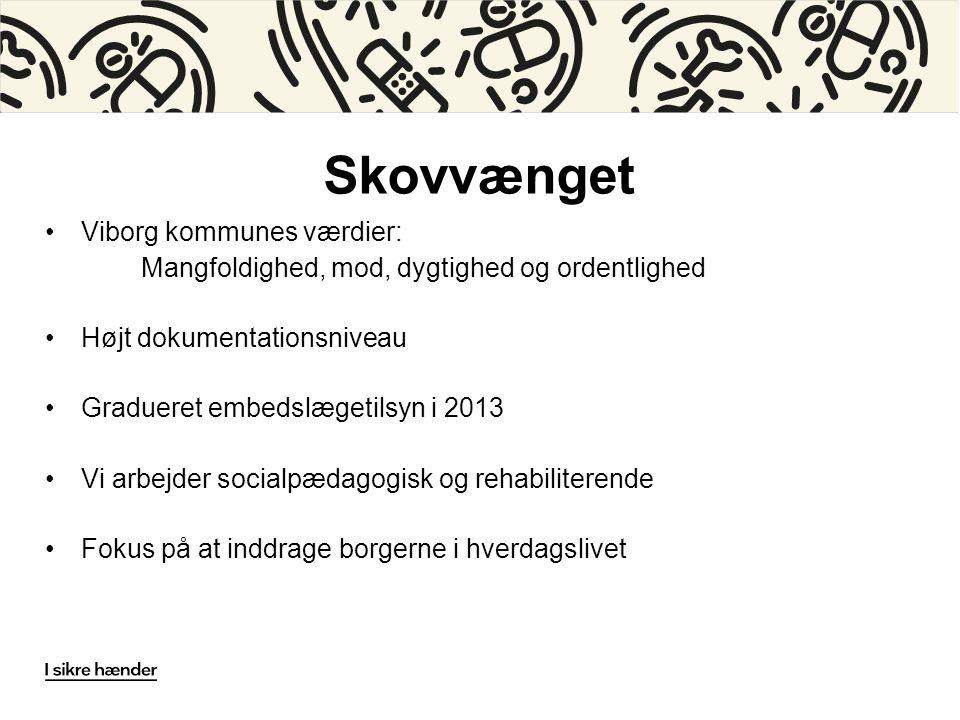 Skovvænget Viborg kommunes værdier: