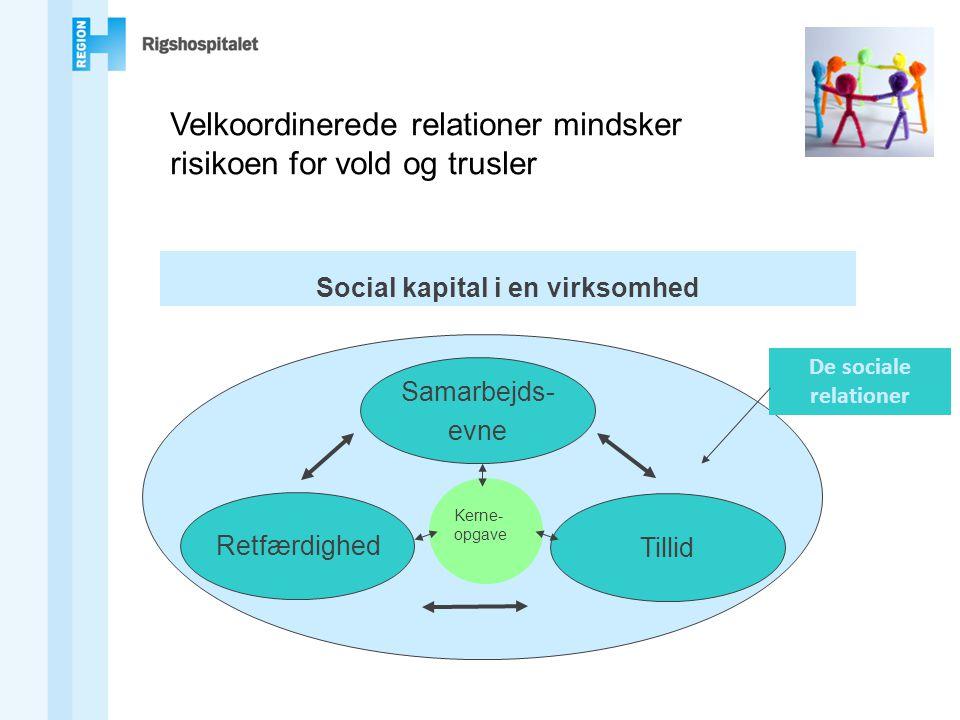 Social kapital i en virksomhed