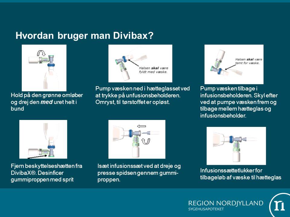 Hvordan bruger man Divibax