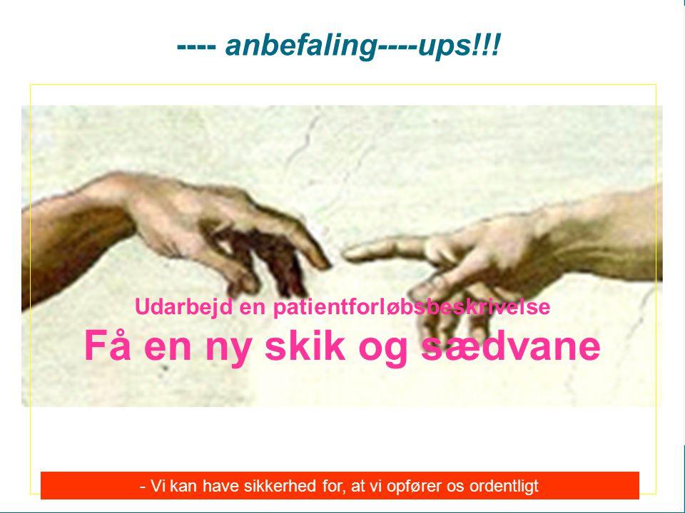 ---- anbefaling----ups!!!