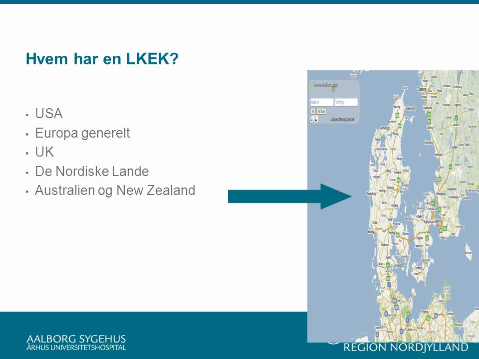 Hvem har en LKEK USA Europa generelt UK De Nordiske Lande