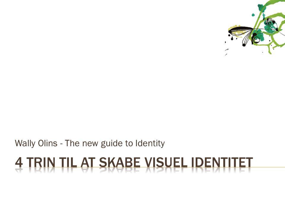 4 trin til at skabe visuel identitet