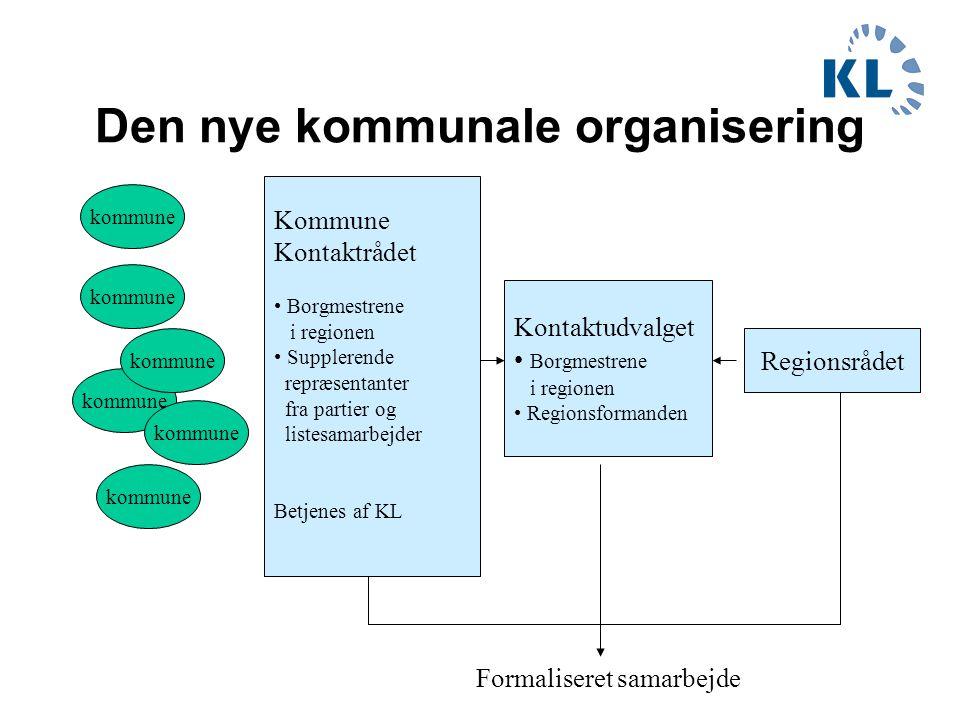 Den nye kommunale organisering
