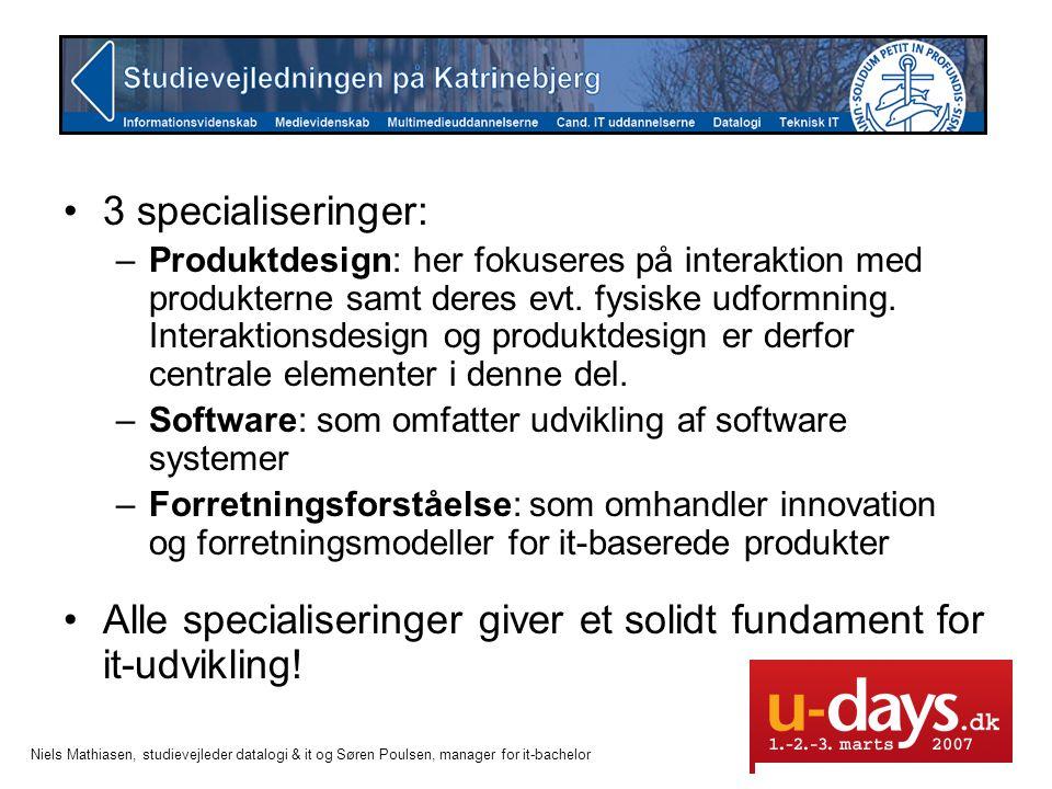 Alle specialiseringer giver et solidt fundament for it-udvikling!