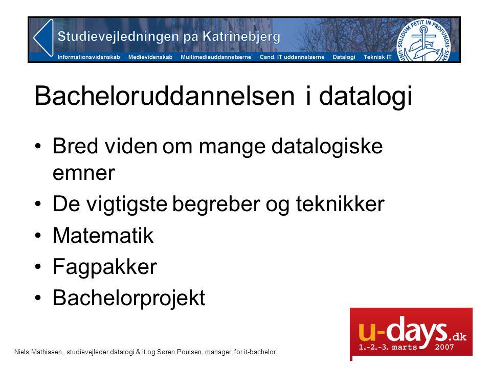 Bacheloruddannelsen i datalogi