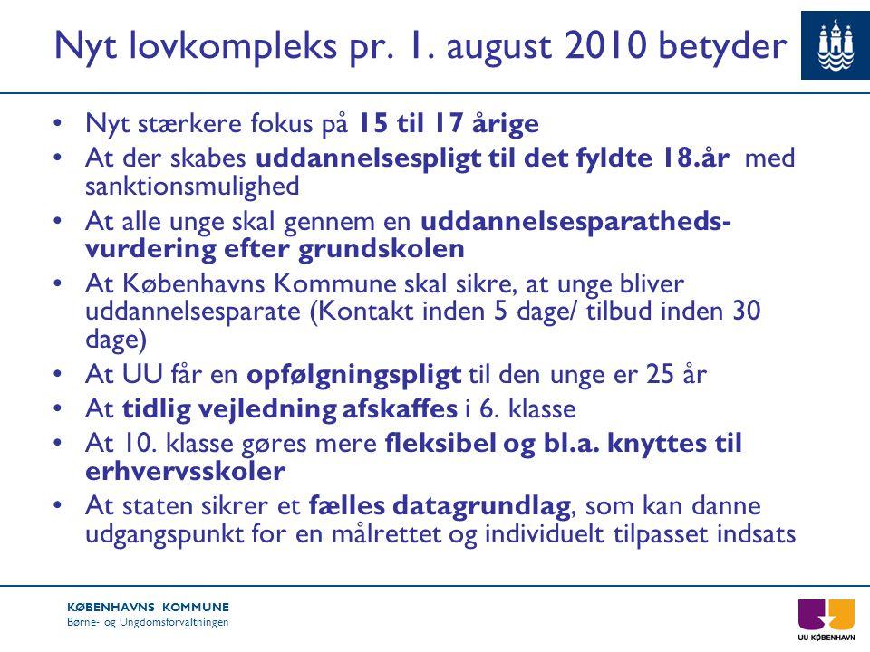 Nyt lovkompleks pr. 1. august 2010 betyder