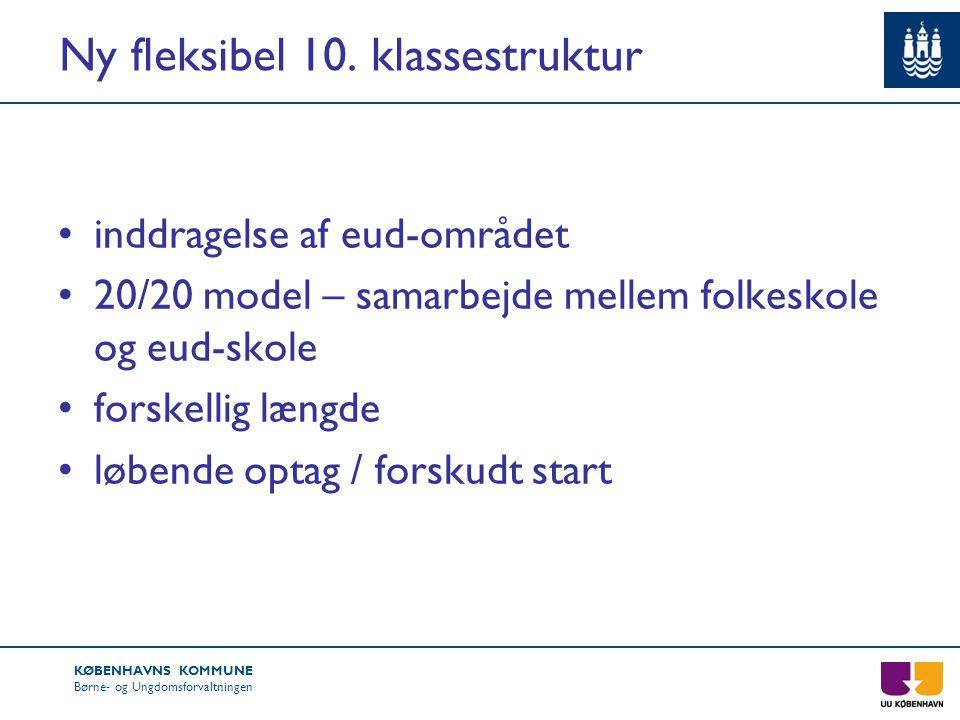 Ny fleksibel 10. klassestruktur