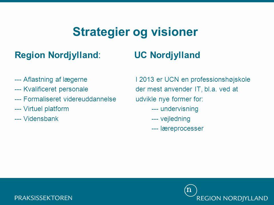 Strategier og visioner
