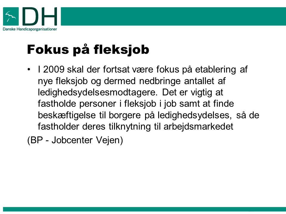 Fokus på fleksjob