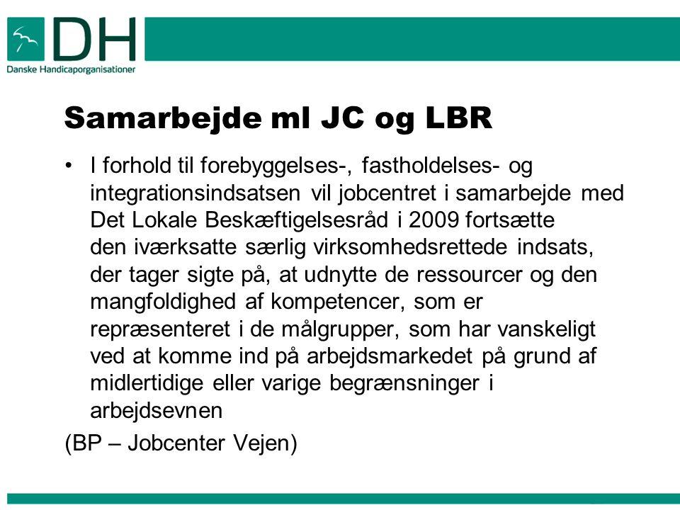 Samarbejde ml JC og LBR