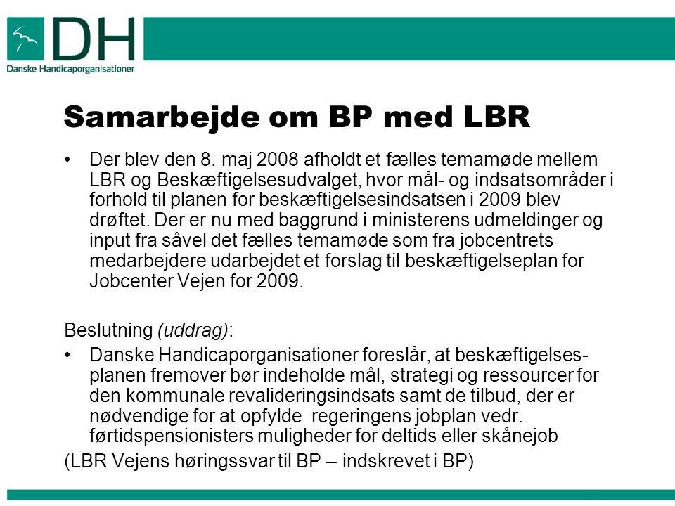 Samarbejde om BP med LBR