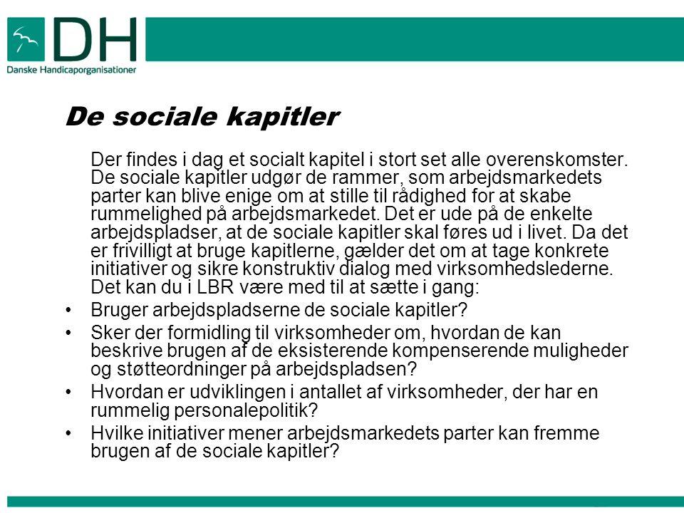 De sociale kapitler