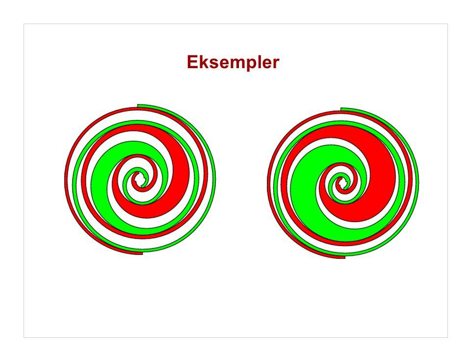Eksempler …