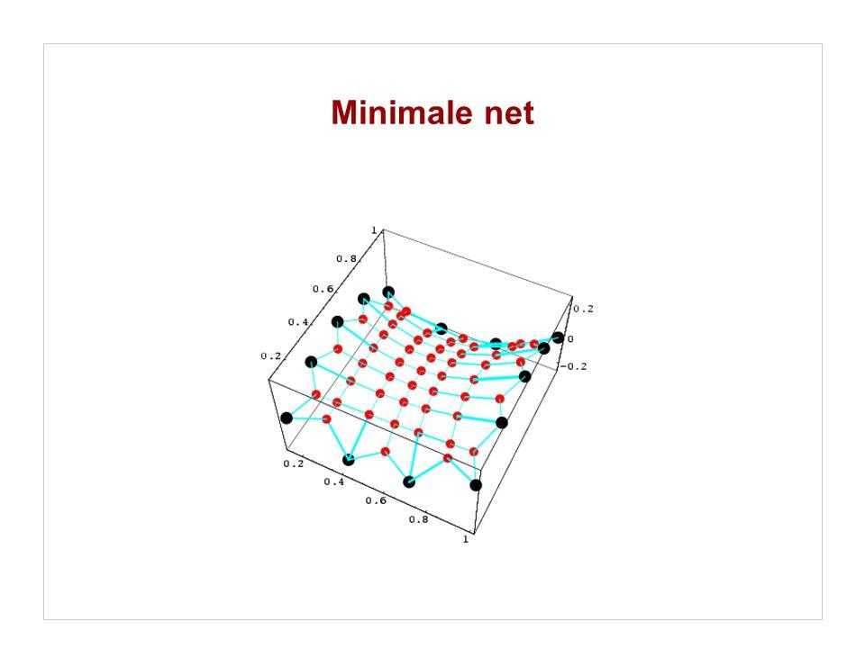 Minimale net