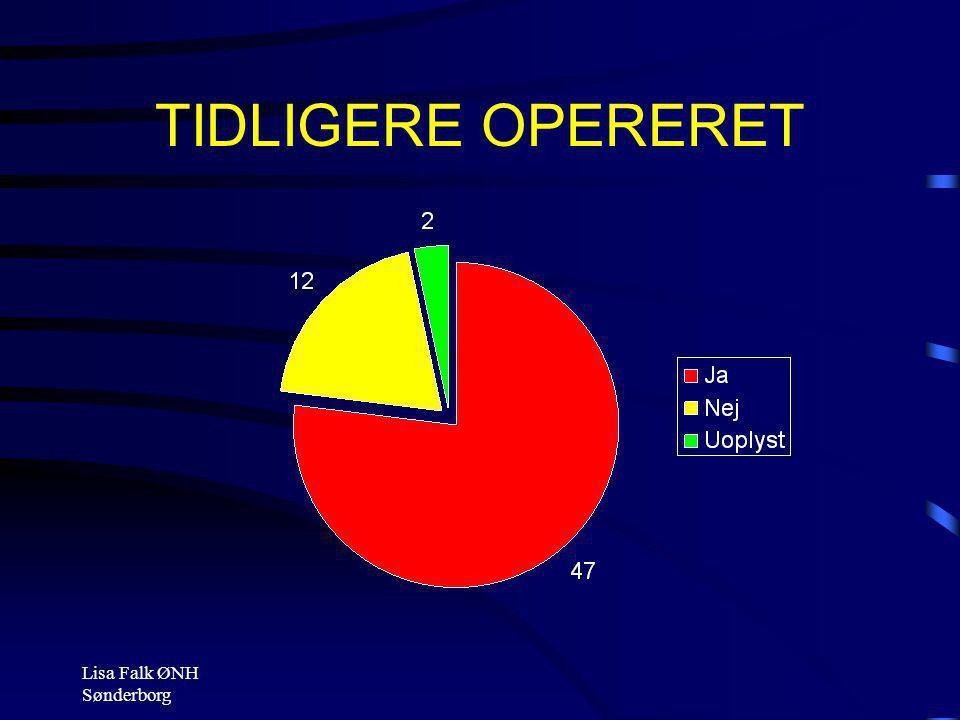 TIDLIGERE OPERERET Lisa Falk ØNH Sønderborg