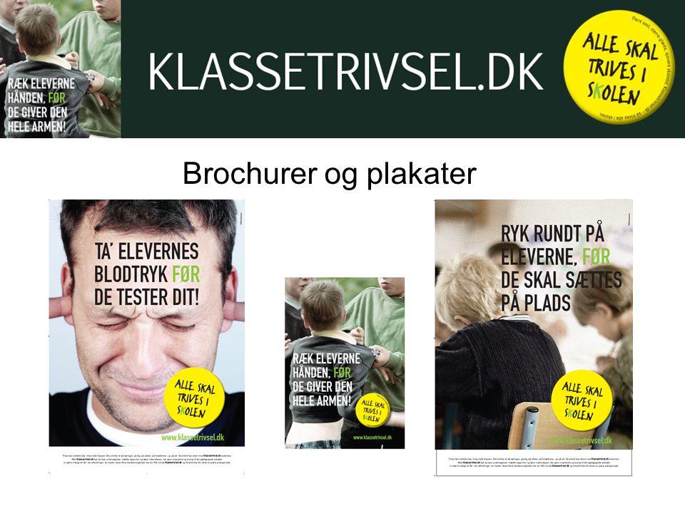 Brochurer og plakater