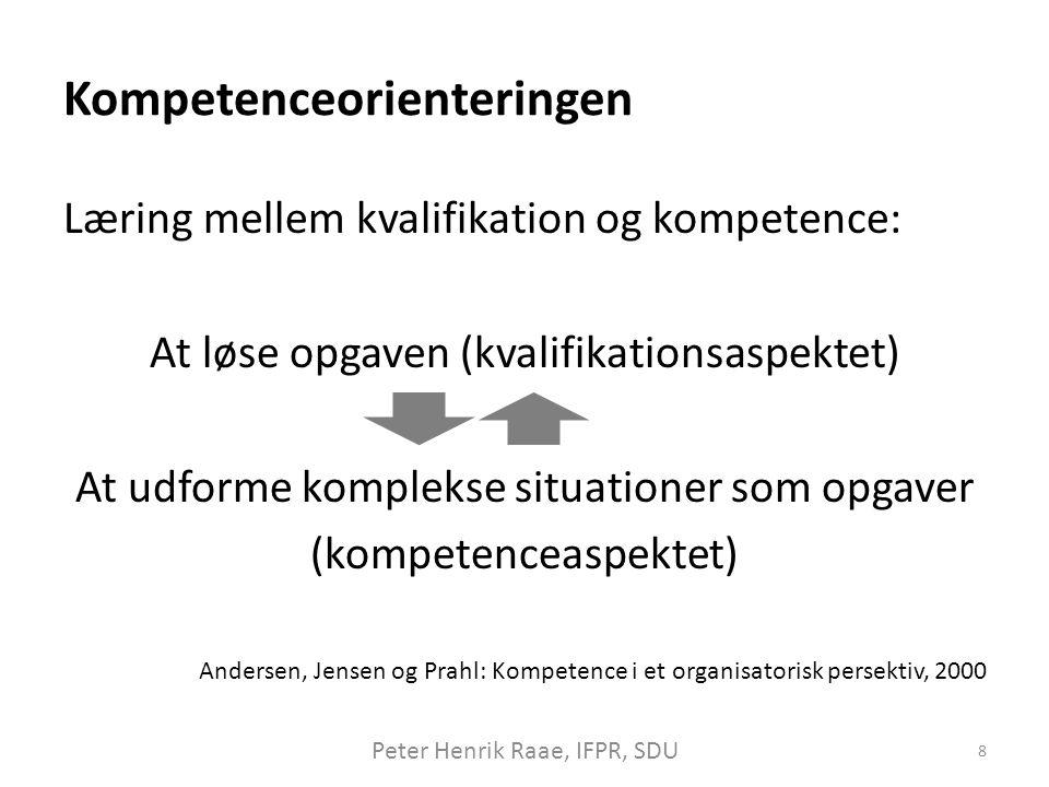Kompetenceorienteringen