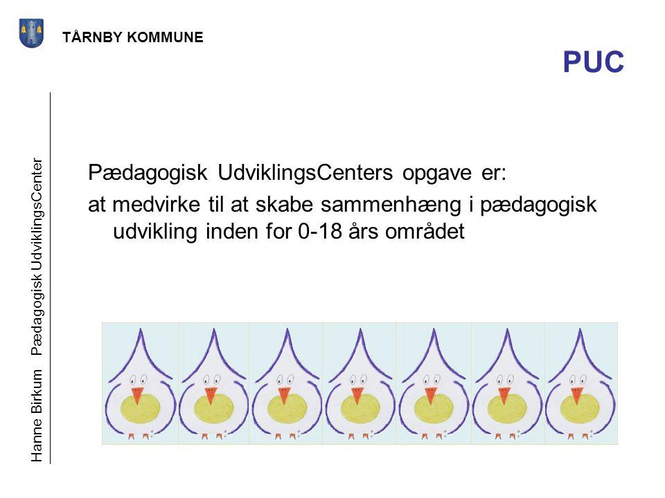 PUC Pædagogisk UdviklingsCenters opgave er: