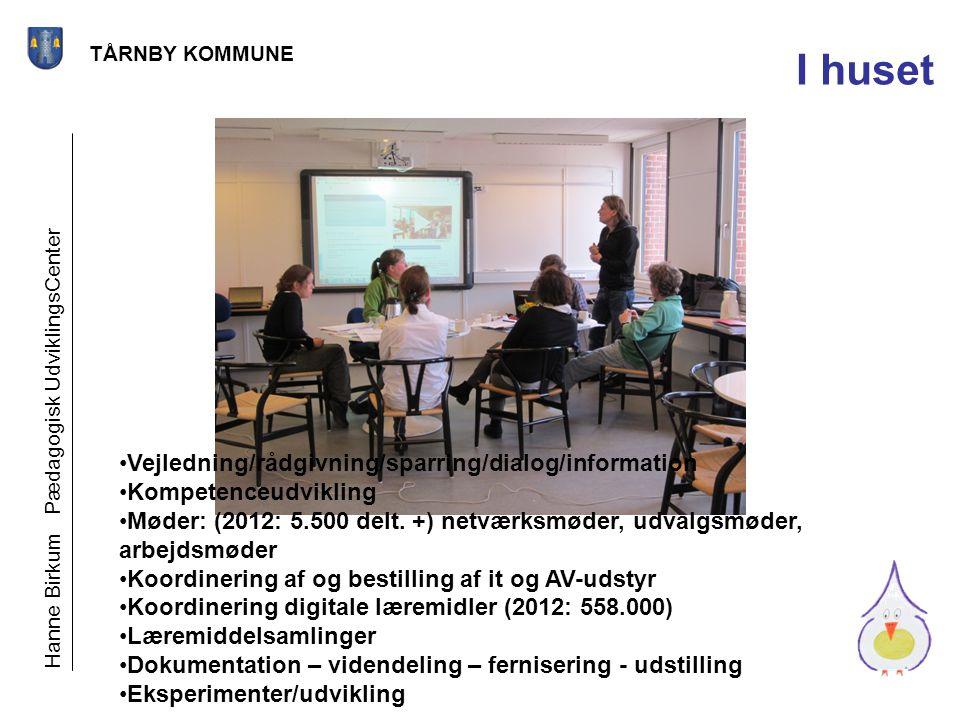 I huset Vejledning/rådgivning/sparring/dialog/information