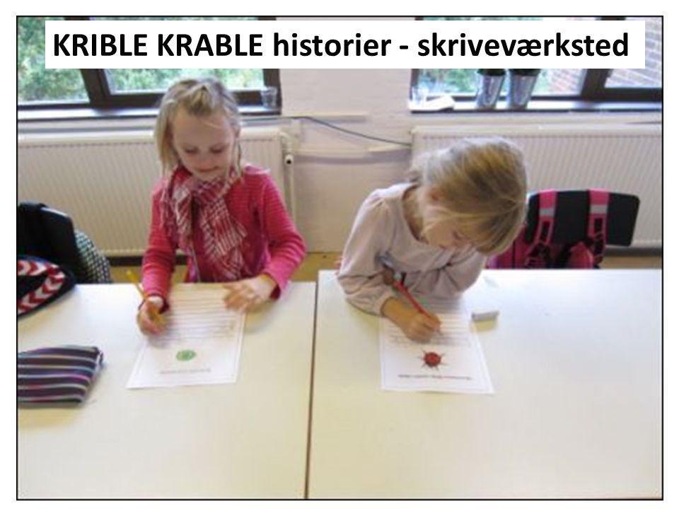 KRIBLE KRABLE historier - skriveværksted