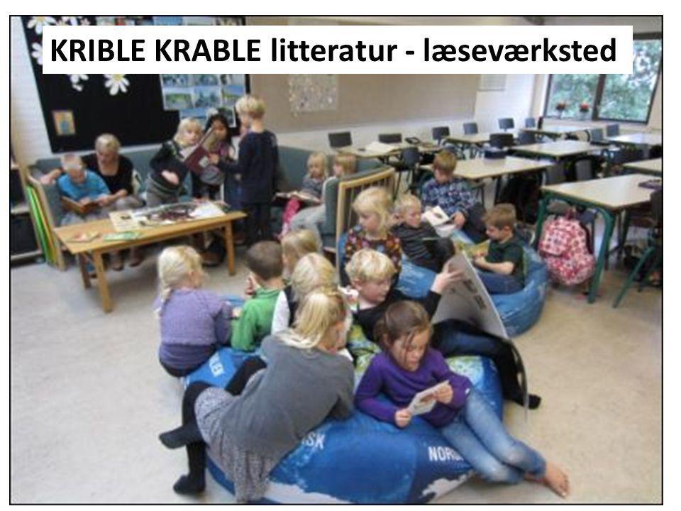 KRIBLE KRABLE litteratur - læseværksted