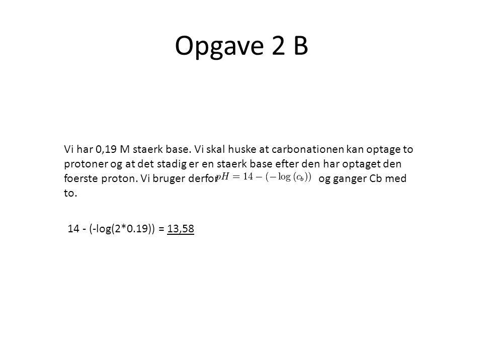Opgave 2 B