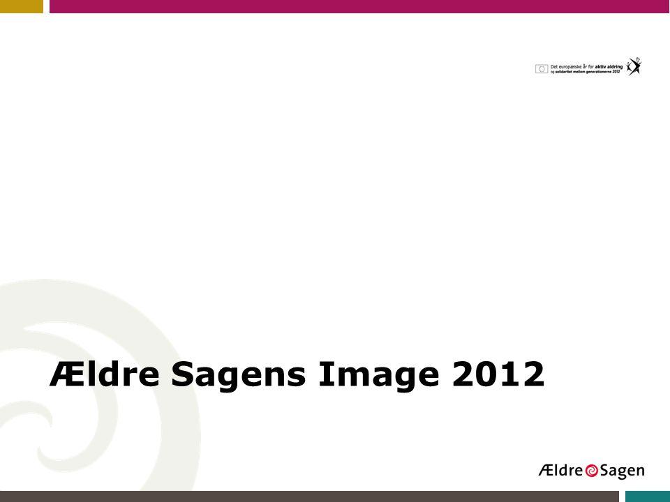 Ældre Sagens Image 2012
