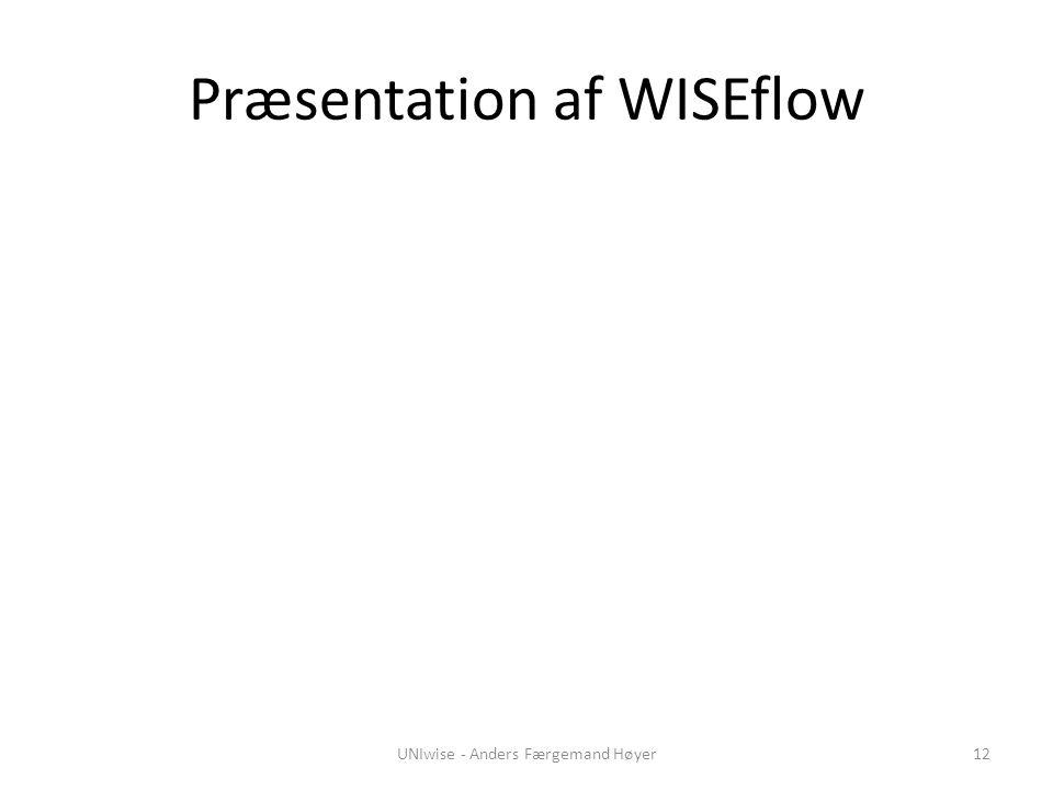 Præsentation af WISEflow